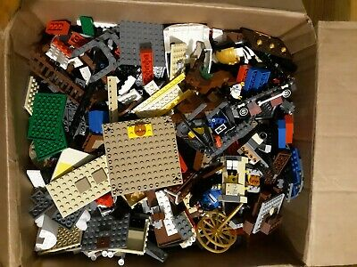 LEGO Bulk Lot of 2 Pounds Bricks Parts and Pieces Clean Genuine 2 Lbs Grab Bag