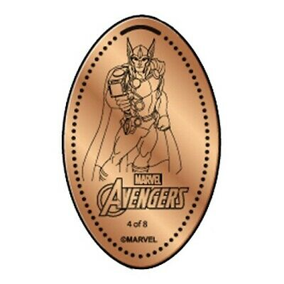 THOR AVENGERS  Penny Elongated / Pressed Penny Coin MARVEL DISNEY SPRINGS