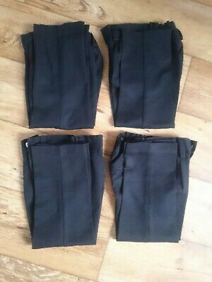 4x boys Next School Trousers Age 3 Years Slim used for 2 weeks