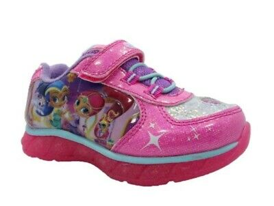 Shimmer and Shine Toddler Girls' Nickelodeon Light-up Athletic Sneakers Shoes:12