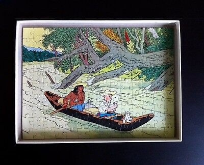 * Herge * Puzzle Tintin 140 Pieces * L'oreille Cassee * Casterman 1981