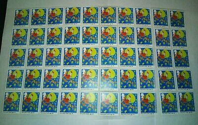 50 x 1st Class Royal Mail Stamps First. Unfranked off Paper with Gum...