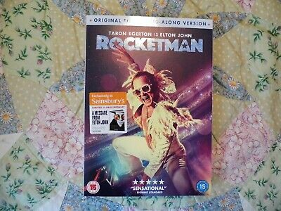 rocketman dvd only viewed once, excellent!