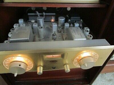 HH Scott 330-D Stereomaster AM / FM Stereo Tube Tuner TESTED + Manual