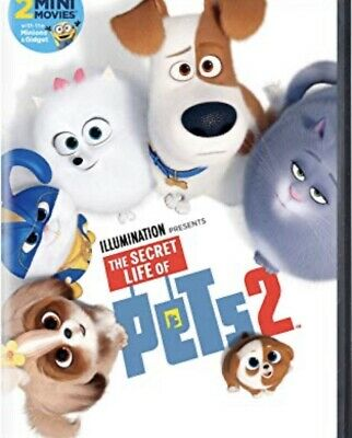 secret life of pets Dvd 2 DVD