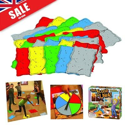 The Floor is Lava! Interactive Board Game for Kids and Adults (Ages 5+) Fun UK!