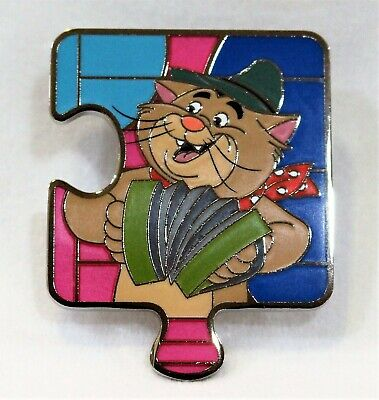 Disney Aristocats Character Connection LE 1100 Puzzle Pin - Peppo