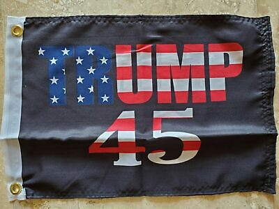 12x18 Inch WOMEN FOR TRUMP OFFICIAL USA SUPPORTER Boat FLAG UV PROTECTED BANNER