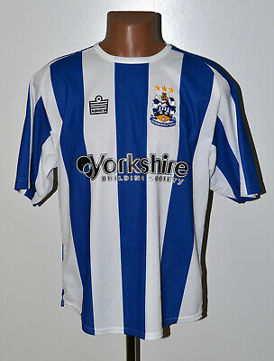 Huddersfield Town Signed 2005/2006 Home Football Shirt Admiral Size S Adult