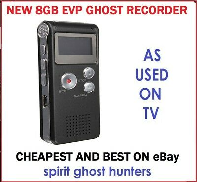 Ghost EVP Voice Recorder Spirit Hunt - 8GB Hunting Equipment