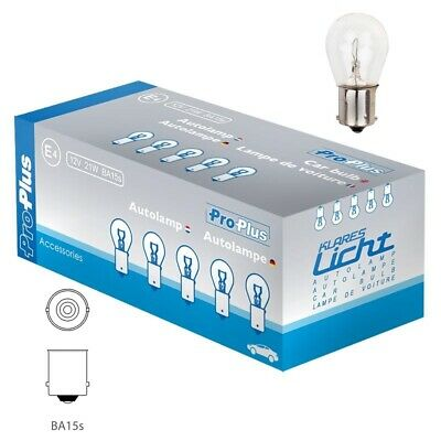 DOUBLE CONTACT BAYO BA15S P21W PLASTIC WIRED LIGHT BULB SOCKET HOLDER