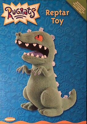 Vintage Alan Dart's Rugrats Reptar Toy Knitting Pattern New