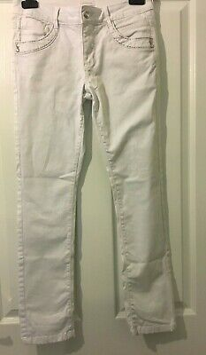 Cherokee Girls Jeans - White jeans. Size 12 - 13 years Excellent condition