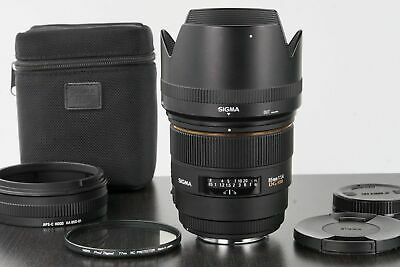 SHIPS USPS Sigma EX 85mm f/1.4 HSM DG EX Lens Canon EF EOS mount great condition