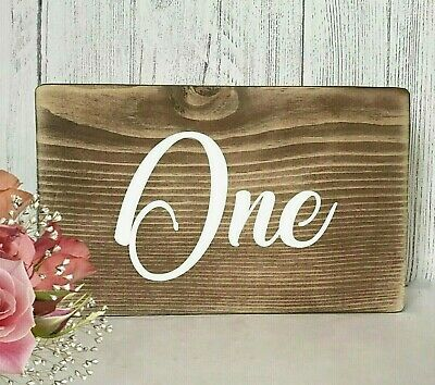 Wedding Table Numbers Rustic Wedding Venue Wooden Table Decoration Free Standing