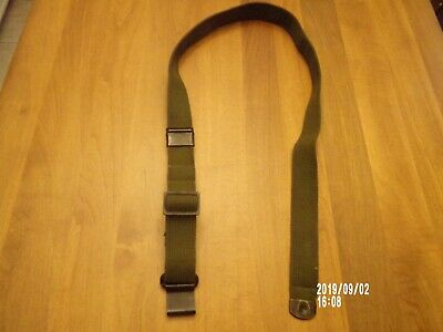 U.s. Military Issue M1 Garand Green Cotton Web Rifle Sling. 44 Inches Long (New)