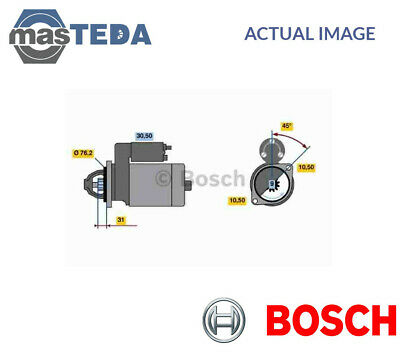 Bosch Engine Starter Motor 0 001 107 024 I New Oe Replacement