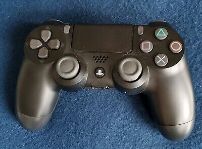 Sony DualShock 4 Wireless Black Controller PS4 Playstation Tested 2 ButtonsStick