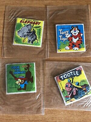 Kellogs little golden books competition collectable stickers.