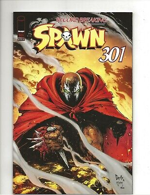Spawn #301 Greg Capullo Variant Cover very fine/near mint (VF/NM) condition