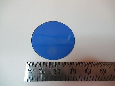 Wild Heerbrugg Swiss M20 Blue Glass Filter Microscope Part As Pictured &14-B-22