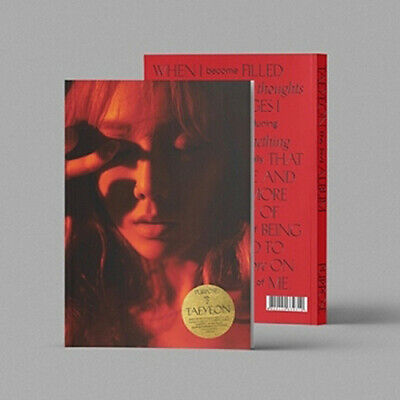 TAEYEON PURPOSE 2nd Album DELUXE EDITION CD+POSTER+P.Book+2p Card+H.Sticker+GIFT
