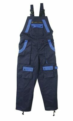 "PaintWear? ""Bib Style"" Overall Female Large - Navy / Royal"
