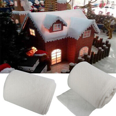 2M Roll Fake Snow Christmas nativity soft white blanket artificial 71CM Wide