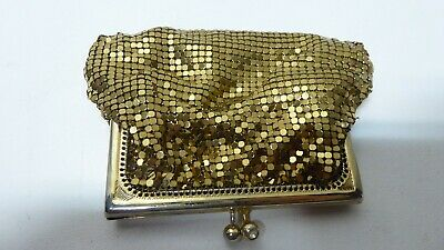 Vintage Original Oroton Gold Mesh Coin Purse