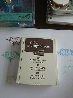 Stampin up Pad Close To Cocoa