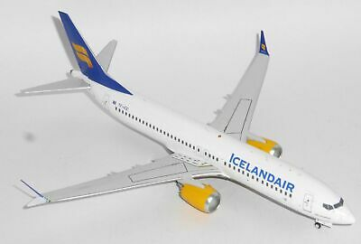 Inflight200 Icelandair Boeing 737-8 MAX TF-ICE 1/200 IF738MAXFI001