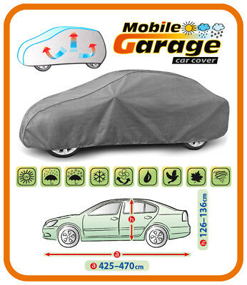 Heavy Duty Car Cover for Mercedes C Class W201 Saloon Breathable UV Protection