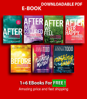 After Series Complete Set - by Anna Todd (Book 1-7) P.D.F