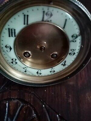 Antique French  Clock Movement, Dial, working no pendulum or key