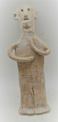 Museum Quality Circa 2000Bce Ancient Near Eastern 'Plank' Type Idol Strange Form