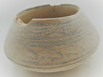 Circa 2200-1800Bce Ancient Indus Valley Harappan Vessel With Stag Motifs