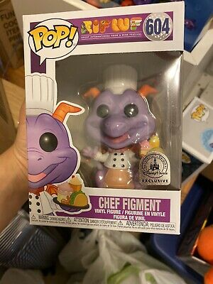 Funko Pop Chef Figment #604 Epcot Food and Wine Disney Parks Brand New IN HAND