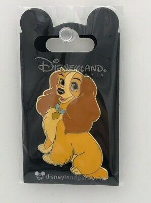 Disney Parks Disneyland Paris Pin Lady & The Tramp DLRP Dogs & Cats 2019