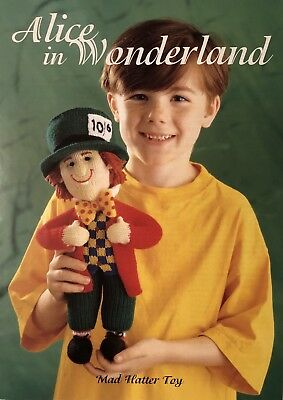 Alan Dart's 'Mad Hatter' Toy & Sweater Knitting Patterns