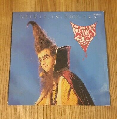 """Doctor And The Medics - Spirit In The Sky - 7"""" Vinyl Record Single"""