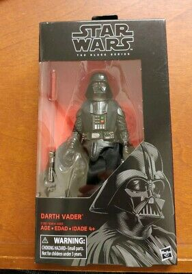 "J299 Star Wars The Black Series Darth Vader  6"" Action Figure #43 Hasbro New"