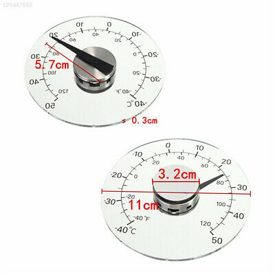 A880 Acrylic Temperature Instruments Wall Thermometer Office Indoor Outdoor