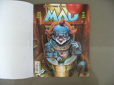 MAD MAGAZINE - NEWEST ISSUE - DECEMBER 2019 NO. 10 - Everything Floats in Here