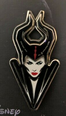 Disney Parks Maleficent Mistress Of Evil Live Action Bust Pin LR Ready to Ship