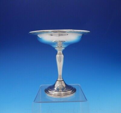 "Buttercup by Gorham Sterling Silver Compote 6"" Tall Weighted #973 (#3810)"