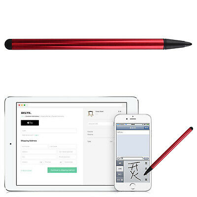 Universal Touch Screen Pen For IPhone IPad Tablet PC Ipod Mobile Phone Red