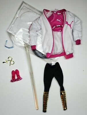 Adorable & Complete Puma Barbie Outfit - Fashion Only