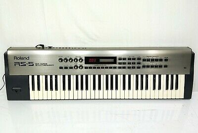 ROLAND RS-5 RS5 Synthesizer 61-Key Keyboard in Excellent Condition From Japan