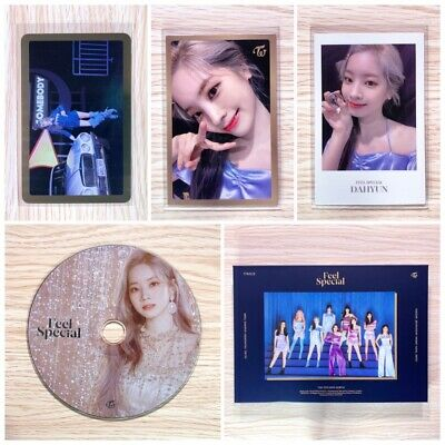 Twice - Feel Special (8Th Mini Album) Dahyun Cd Photocard Set (Ver B)