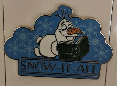 Disney Parks 2019 Frozen Olaf Snow It All Open Edition Pin